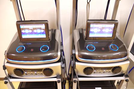 高圧電気治療器を3台導入
