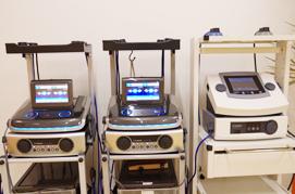 トップアスリートも愛用する高圧電気治療器を3台導入
