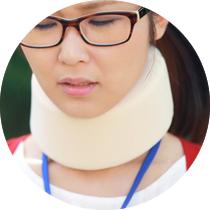 交通事故のむち打ちによる「首の痛み」や「腰痛」に悩む方